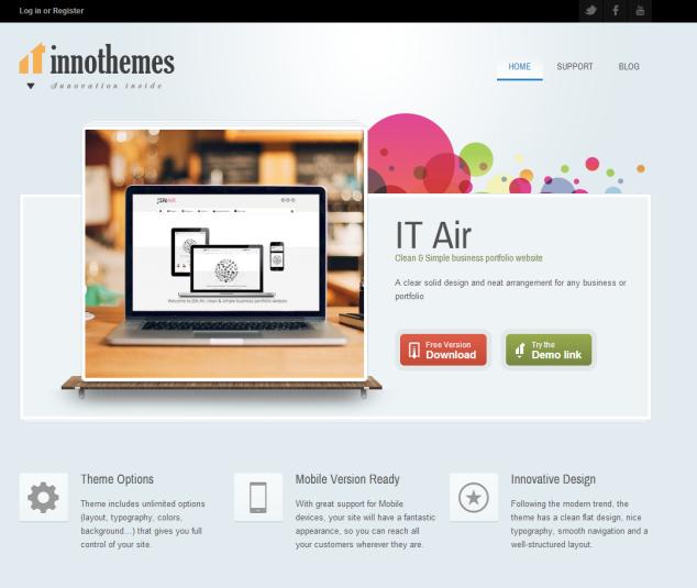 wordpress-best-free-theme-innotheme