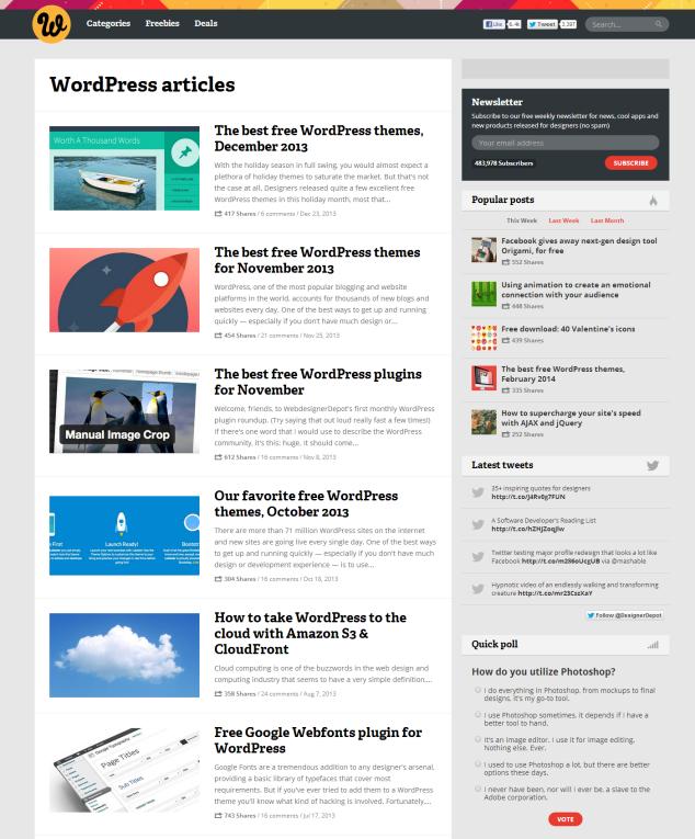 wordpress-free-theme-webdesignerdepot